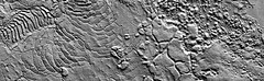 Elysium Planitia (sjrankin) Tags: mars chaos edited nasa grayscale odyssey processed landforms chaotic fractures tonalcontrast elysiumplanitia 6october2013