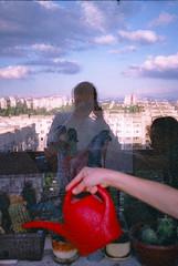 reflection (sosap kirilov) Tags: frame half olympuspenee3 processc41 agfafantasy200