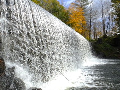 North Wayne Dam (RonG58) Tags: pictures new trip travel light usa color fall nature water creek forest landscape geotagged photography us photo waterfall woods stream day image photos dam live maine picture images photograph digitalcamera brook exploration mori mizu photooftheday picoftheday waynemaine leau fugifilm laforêt elagua northwayne daswasser dailynaturetnc12 northwaynedam rong58 finepixhs50exr