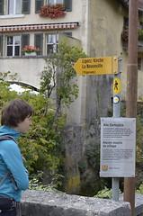 Signs (vasile23) Tags: switzerland hiking oana