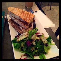 One fine sandwich