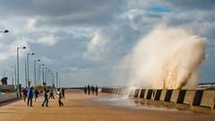 (ashleyduncanphotography) Tags: new storm news art liverpool seaside globe brighton waves wind action fine olympus boom tsunami birkenhead shock 50200mm explosive omd wirral risky promanade seasid em5 riscky wirralglobe omgomd