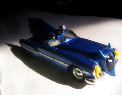 Batmobile Metal 1950s Batman Car 6743 (Brechtbug) Tags: show blue fiction film robin car television metal danger toy toys book miniature bill tv corgi automobile comic noir fighter shaped finger character bat wing replacement bob s super science 1966 adventure plastic crime strip 1950s future hero batman scifi series shield 50s pulp 1968 kane collectible fin batmobile past 1950 serial corgis costumed 267 2013 batmobiles