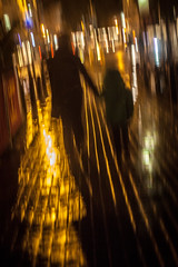 A rainy night in Brighton_02 (a roving eye) Tags: wet rain night holding hands brighton mother son together paulmansfield arovingeye
