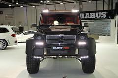 Brabus  700 (AlBargan) Tags: auto show 6x6 dubai g autoshow 63 mercedesbenz motor 700 motorshow brabus gclass 2014 2013 g63 b63s