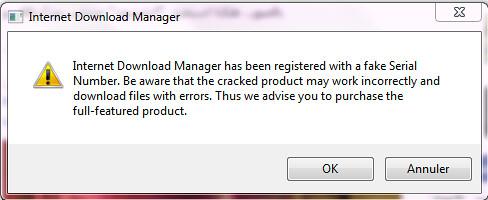 الحل النهائي للتخلص من رسالة برنامج Internet Download Manager المزعجة