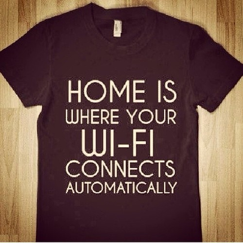 Home is where your wi-fi connects.