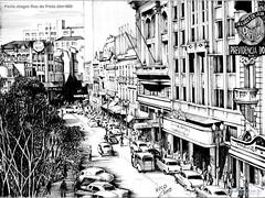 Porto Alegre Rua da Praia déc1950