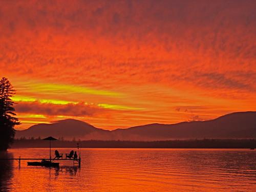 Ellis/Roxbury Pond Sunset - C Swain