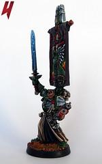 Supreme Grand Master Azrael (Uruk's Customs) Tags: dark space grand master angels warhammer marines supreme azrael wh40k