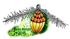Merry Xmas (matteotarenghi) Tags: christmas drawing noel natale letraset tarenghi