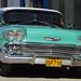 1958 Chevrolet Bel Air in Cuba