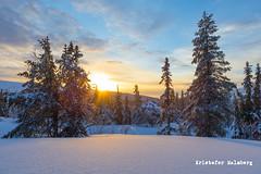 Slen Hgfjllet (KR15T0F3R) Tags: christmas winter sunset mountain snow skies sweden powder slen