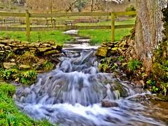 33.365 (Edie**) Tags: stream flood walk valley hdr chedworth