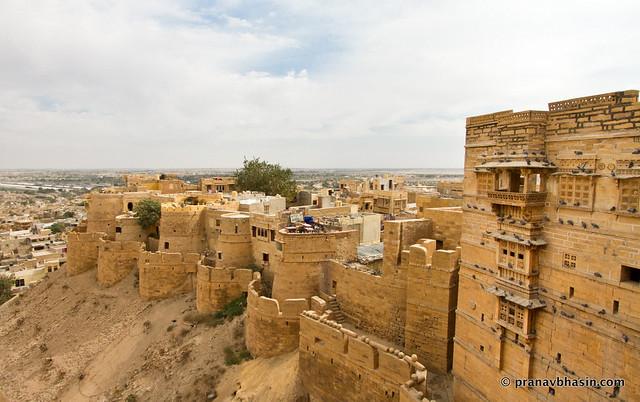 Sonar Kila Stands Atop Jaisalmer, Rajasthan