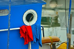 white, red, yellow and blue... (Love me tender ♪¸.•*´¨´¨*•.♪¸.•*´) Tags: blue red sea white water colors yellow reflections boats photography fishing greece 2014 dimitra palaiofaliro mygearandme mygearandmepremium mygearandmebronze mygearandmesilver nikond3100 kirgiannaki