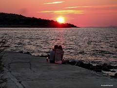 Spirit of sundown OR sundown with the spirit? (in the bottle) (Poljeianin) Tags: croatia hrvatska dalmatia dalmacija bra postira islandofbrac poljeianin prvjabay mygearandme mygearandmepremium uvalaprvja fjodorm
