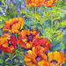 "Catherine Hartung: ""Patterned Poppies"" Watercolor"