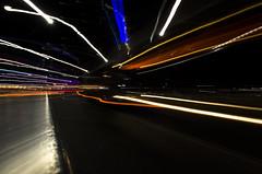 DSC_4727 (nick's-nikon) Tags: road city light cars car lights nikon trails australia brisbane southbank cbd d5100