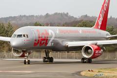 G-LSAB B757-27B Jet2 (kw2p) Tags: scotland unitedkingdom boeing jet2 ingliston egph edinburghairport glsab b75727b egphedi