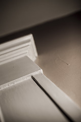 Cornice (mph1966) Tags: door wood light shadow white detail corner canon iso100 woodwork shadows dof sigma depthoffield 7d 365 moulding f28 cornice 30mm sigma3014 colorwash 3014 project365 160seconds canon7d
