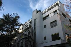Buildings rue Robert Mallet-Stevens (1927) in Paris 16th (Sokleine) Tags: paris architecture modernism 75016 ruemalletstevens htelparticulier malletstevens