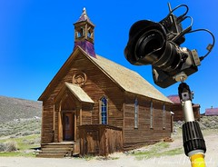 Bodie / pole cam © Keith Breazeal (Keith Breazeal Photography) Tags: camera church canon rebel town ghost bodie 1022mm sl1