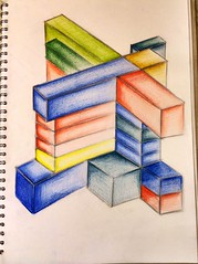 Paul Noble geometric 3D colour drawing (samwoodward198) Tags: life new blue light red colour green art love college geometric yellow architecture pencil dark paul design 3d still student university artist drawing line architect shade technical cube april shape tone noble career 2014 colorvibefilter