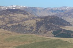 Little Glas Maol and Glen Isla, viewed from Mount Blair. (Shandchem) Tags: scotland angus perthshire mount blair glenisla littleglasmaol