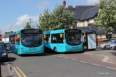 Arriva North East Sapphires (Andy4014) Tags: bus durham darlington wright pulsar sapphire arriva vdl ferryhill sb200 nl63vrj nl63vrg