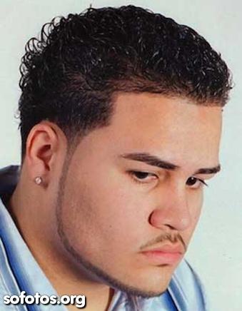 corte de cabelo masculino cabelo crespo