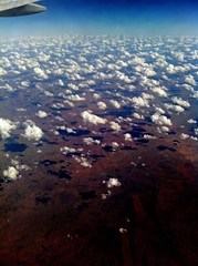 Clouds over Warmun Western Australia