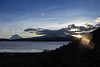 Eco (Lightriphoto) Tags: chile mountain lago dawn amanecer montaña altiplano arica parinacota amanacer chungara lagochungará volcanparinacota
