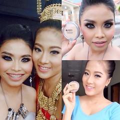ขอ2คำ => แน่นมากกกกกกกกก 😎😁 @auphiphatphon @aiye_aiye #โคราช #เจ๊หมวยบิวตี้ #makeupkorat #ร้านหมอยา #แป้งหน้าเด็ก #perfectpressedpowder #เบาบาง #ติดทน @jordana_cosmetics @jordanacosmeticsthailand