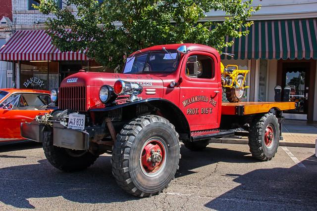 truck kentucky firetruck newport flatbed showtruck vintagetruck dodgepowerwagon rokon historictruck williamsfieldfireprotdist