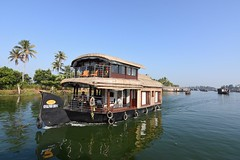Alleppey backwater, Kerala. (kailas bhopi) Tags: kerala houseboat alleppey tokina nikond7200withtokina1116 tokina1116 nikon7200 boat keralatourisum