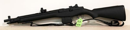 Springfield MI with Socom 16 Custom Rail and Leupold Delta Point Sights ($840.00)