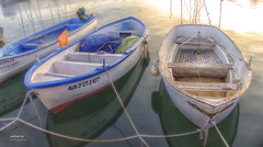 (144/17) Unas barcas antes de descansar (Pablo Arias) Tags: pabloarias photoshop nxd españa photomatix barcas agua mar mediterráneo puerto cabodepalos murcia comunidadmurciana