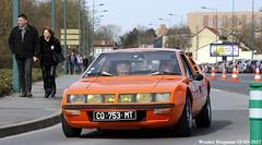 Alpine Renault A310 1972 (XBXG) Tags: cq753mt alpine renault a310 1972 alpinea310 orange coupé coupe 30ème salon des belles champenoises époque reims marne 51 grand est grandest champagne ardennes france frankrijk vintage old classic french car auto automobile voiture ancienne française vehicle outdoor