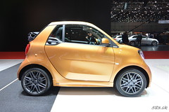 DSC_0269 (Pán Marek - 583.sk) Tags: genéve geneva motorshow palexpo smart brabus ultimate 125 fortwo for two for2