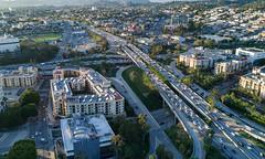 101/110 FWY Interchange (STERLINGDAVISPHOTO) Tags: 101fwy 110fwy losangeles dtla downtownlosangeles davinciapartments