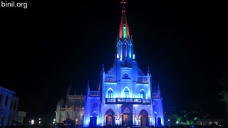 Thrissur Our Lady of Lourdes Metropolitan Cathedral Thirunal 4
