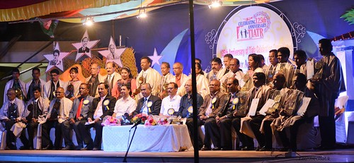 125 years of Tiatr Celelbrations Felicitations in Pernem Taluka