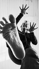 Balance. (Anki Grip) Tags: fs170326 fotosondag balans balance blackandwhite standing balancing