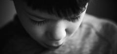Eyebrows (elgunto) Tags: portrait bw blackwhite eyes leica leitz 9028 elmaritr sony a7 manuallense