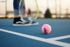 Tennis & Bokeh ( alternate) (disgruntledbaker1) Tags: hbw disgruntledbaker bokeh tennis