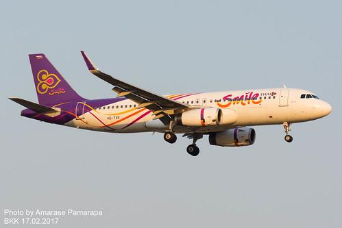 HS-TXR // THAI Smile Airbus A320-232