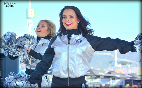 2016 Oakland Raiderette Autumn @ Raiderville