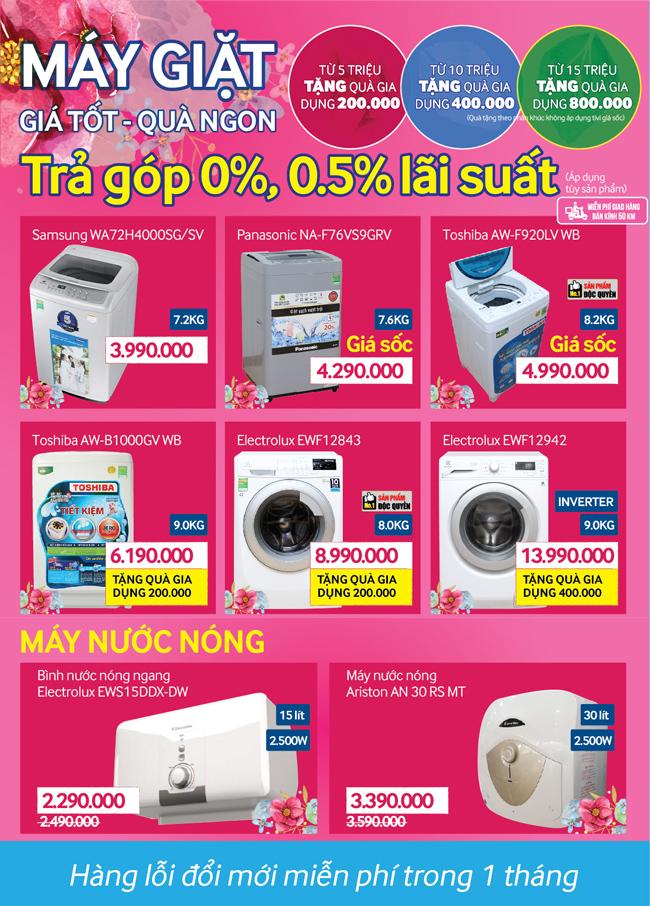 Khai trương siêu thị Điện máy XANH Quán Toan, Hải Phòng