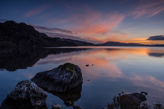 Duntelchaig reflections .. (Gordie Broon.) Tags: lochduntelchaig reflections sunset hills calmloch scottishhighlands invernessshire serene reservoir schottland scotland ecosse rocks collines lac dunlichity lago torness inverness escocia szkocja gordiebroonphotography colours skyreflections march 2017 winter colinas hugeln heuvels landscape paisaje scenery paysage scenic scenario meer scozia alba caledonia lake olympusomdem5 olympuszuiko1240mmlens geotagged jezero